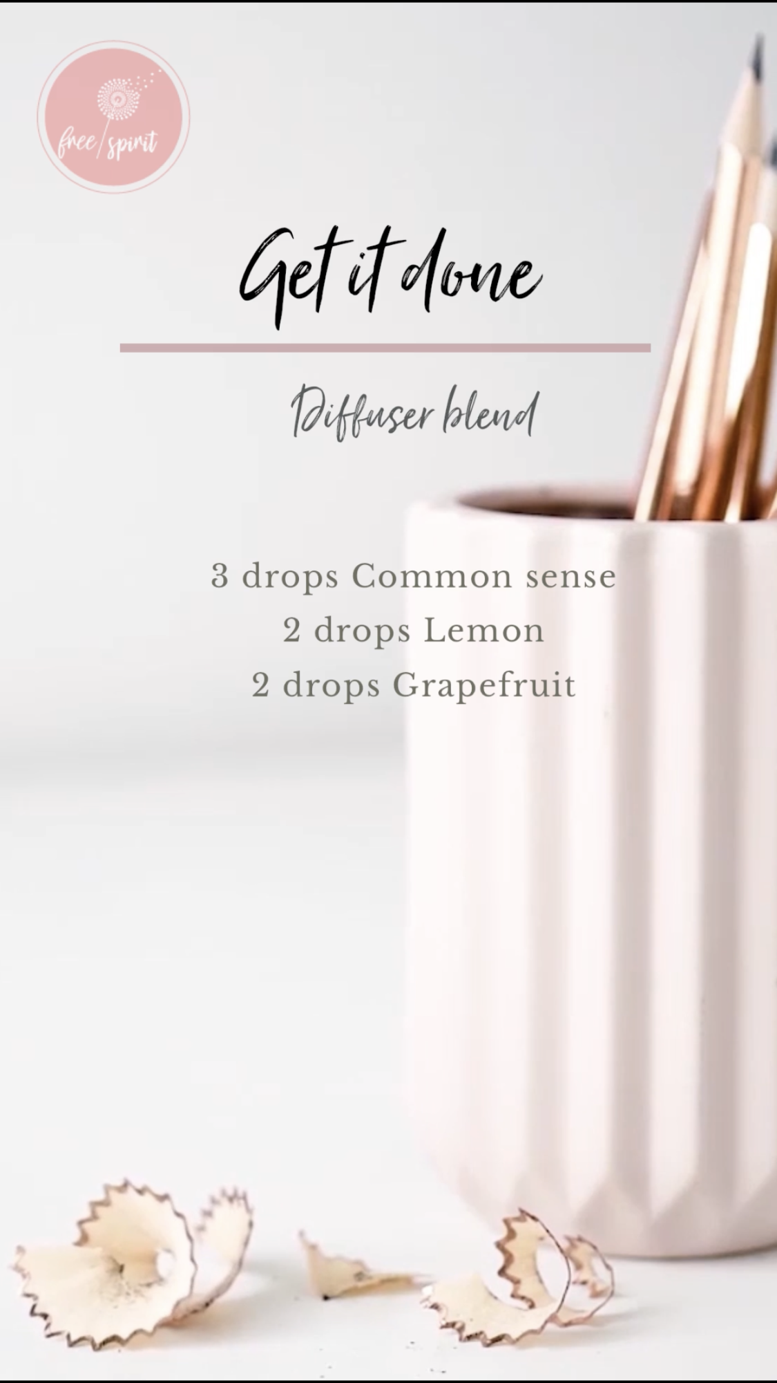 GET IT DONE DIFFUSER BLEND