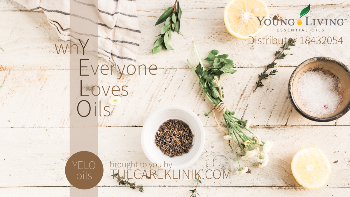 The Care Klinik and YELO oils