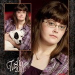 Montage of Tasha Workman, Logan High School Class of 2011 by Peggie B. Hensley