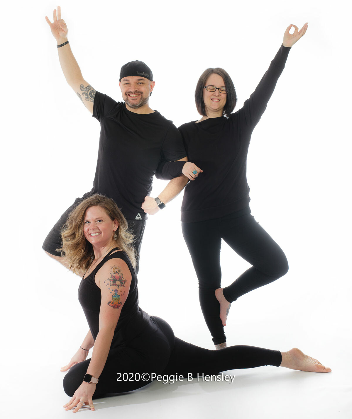 Justin, Kristin, and Britta of Yoga Purpose